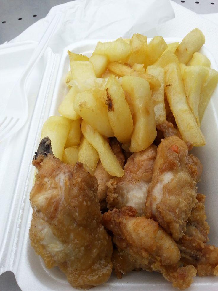 Chicken & Chips - Queen Victoria Market