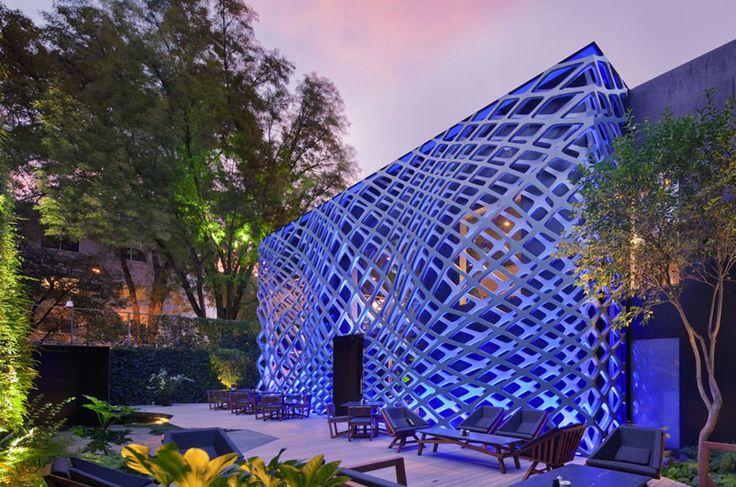 Tori Tori Restaurant by Rojkind Arquitectos + Esware Studio Mexico city, Mexico
