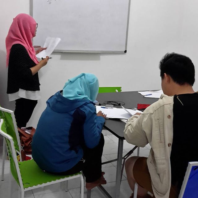Kelas Bahasa Korea Level 1 di KCC Sejong Jogja dengan guru Dilah