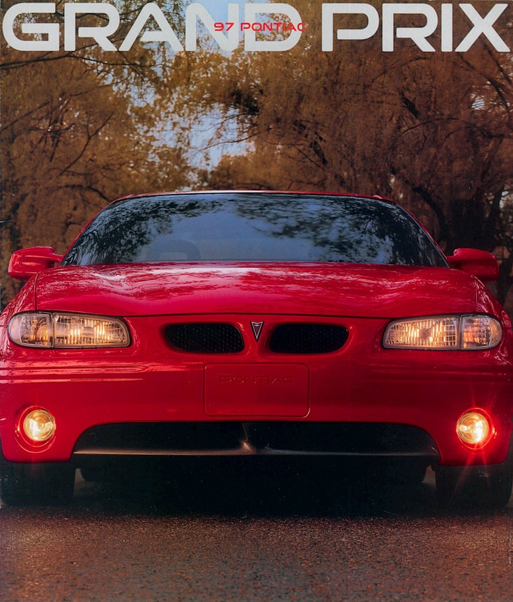 1997 Pontiac Grand Prix, truly one of my favorite cars I've owned, red 2 door