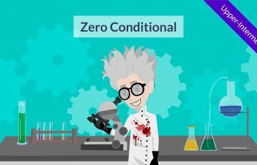 zero conditional – conditional sentences and if clauses esl video for english grammar