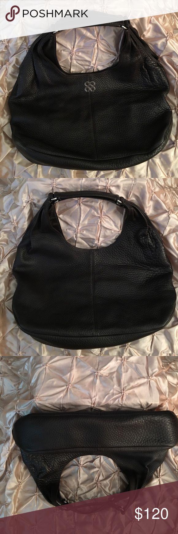 Coach Julia Brown Pebbled Leather Hobo Handbag Coach Julia Brown Pebbled Leather Hobo Handbag Coach Bags Shoulder Bags