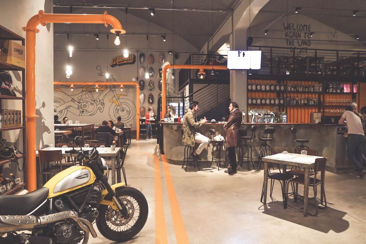 Ducati Scrambler Food Factory