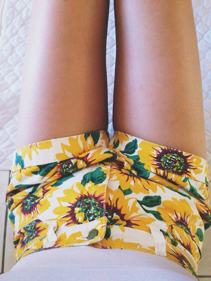 Sunflower Shorts | Summer Style