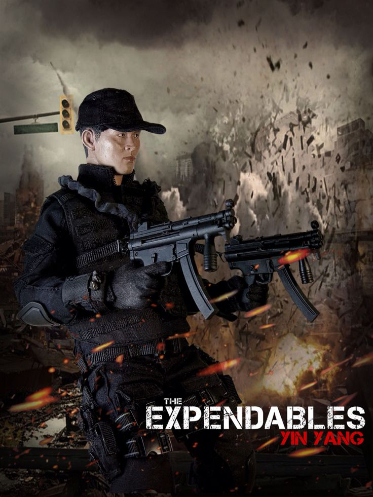 The Expendables: Yin Yang 1/6 Costom Kitbash #Expendables