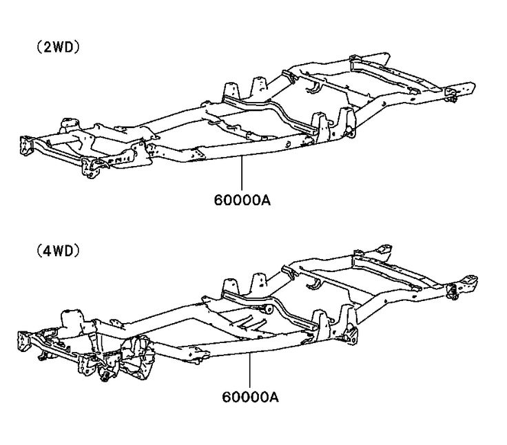 mitsubishi l200 frame assy brass auto parts