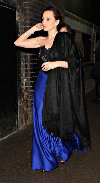Kristin Scott Thomas Photos - The Harvey Weinstein BAFTA After Party In London - Zimbio