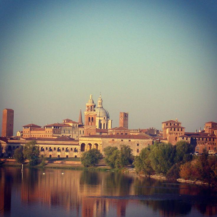 Questa città e chi mi ricorda ! #mantova quanto sei bella !!