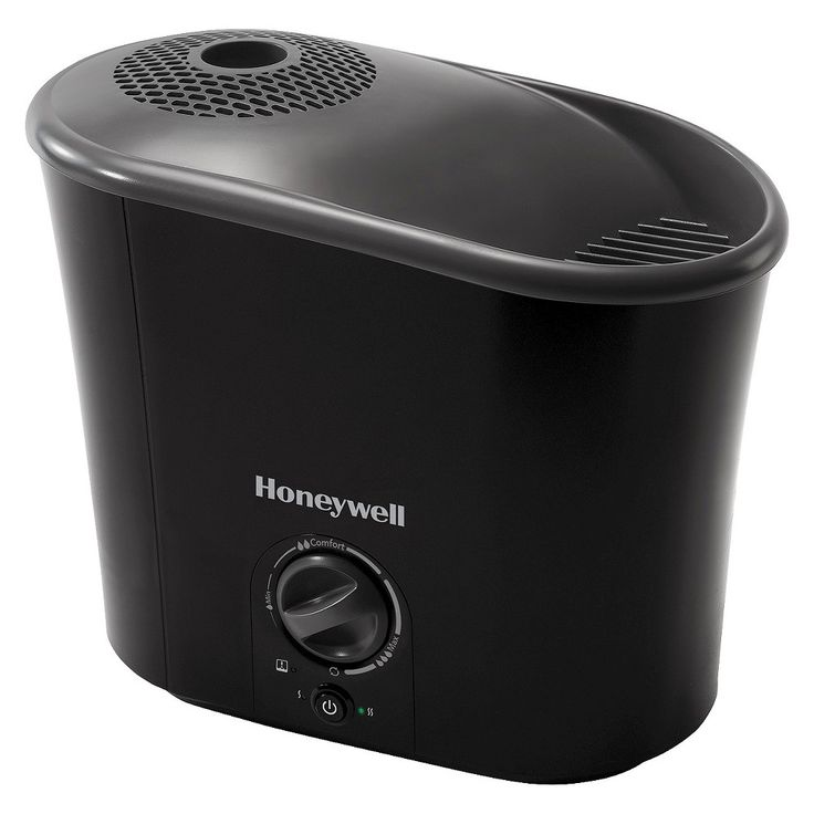 Honeywell Easy-to-Care Warm Mist Humidifier (1.3 Gallons) - Black - Hwm-340B