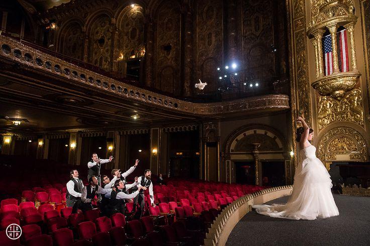 A Landmark Theatre Wedding | New Jersey Wedding Photographers