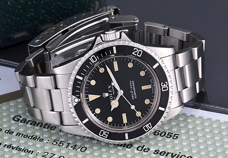 #Rolex COMEX #Submariner ref 5514  http://www.crownandcaliber.com/blog/our-favorite-rolexes-at-antiquorums-saturday-auction/