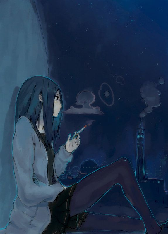Anime Characters Smoking : Best images about smoking on pinterest shingeki no