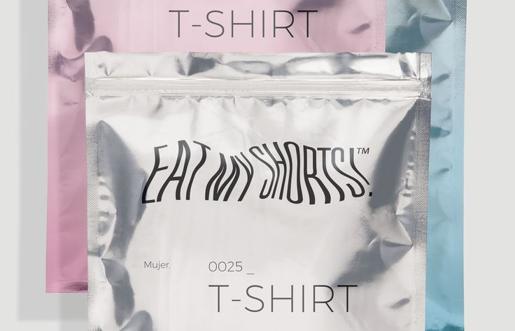 Eat My Shorts Is A Unique Clothing Packaging Solution — The Dieline - Branding & Packaging Design
