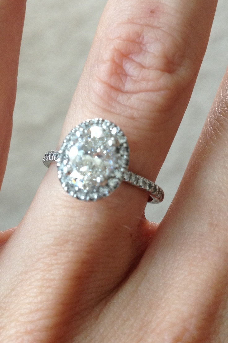 Oval Engagement Ring Just What I Wanted