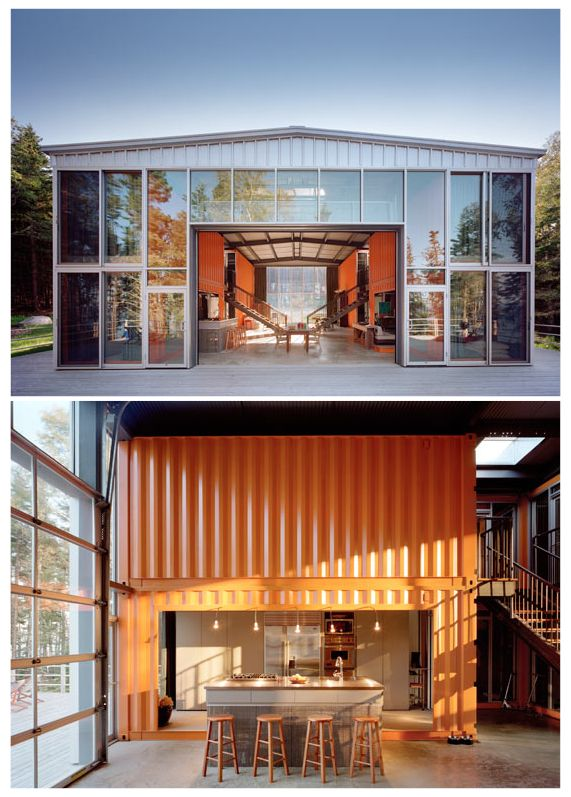 Container homes shipping container house by adam kalkin - Kalkin shipping container homes ...