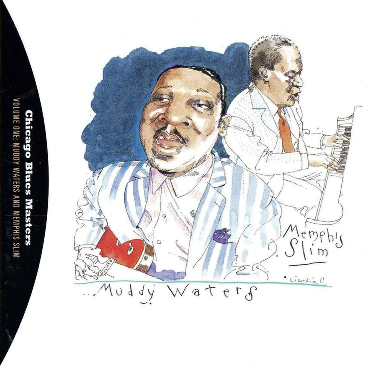 Muddy Waters & Memphis Slim by Joe Ciardiello Capitol Blues Collection (1995)