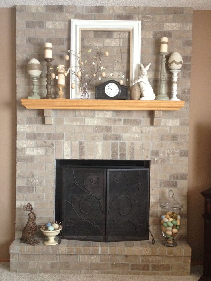 17 best images about easter mantels on pinterest for Mantel decorating tips