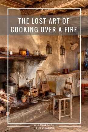 If you had to cook over a fire, would you know how?