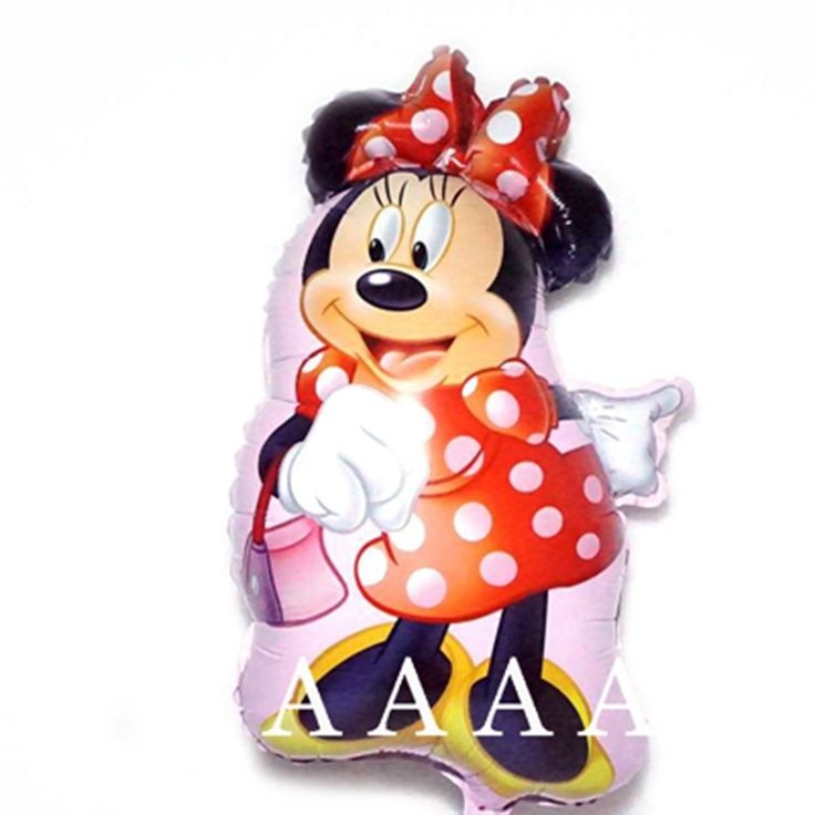 1pcs foil mickey balloons Minnie Mouse Airwalker helium Balloon Mickey Mouse balloon minnie mouse&mickey mouse party supplies