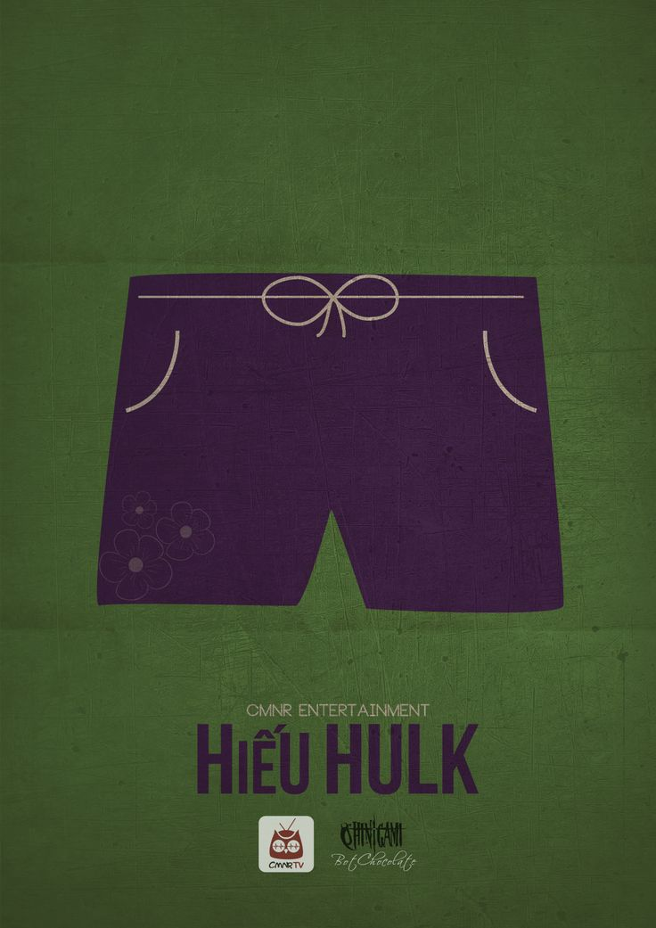 Hiếu Hulk - CMNR Avenger Poster - Design by BotChocolate