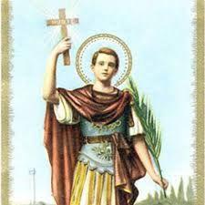 Glorioso San Expedito, santo poderoso que recibiste del Altísimo en don de resolver favorablemente nuestras adversidades, nue...
