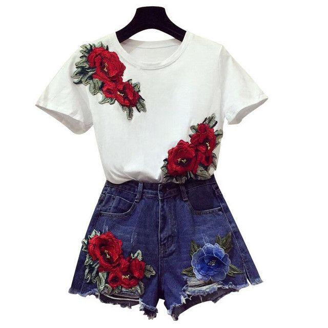 25+ Best Ideas About Flower Shirt On Pinterest