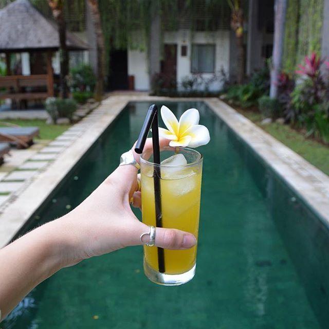 🍍 Juicy mornings at Ganga Hotel & Apartments 🌴 Ready to explore Bali after…