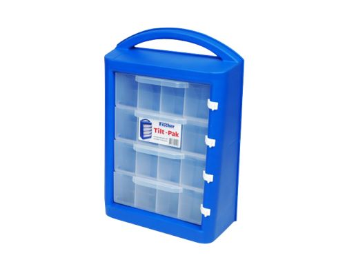 Tilt-Pak Carry Case are Strong and durable, ideal for the tradesperson store tools and components. #storageandtoolbox #plasticstorage