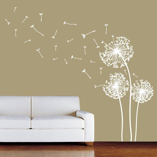 Beautiful Wall Sticker Decoration   Wall Decor Ideas