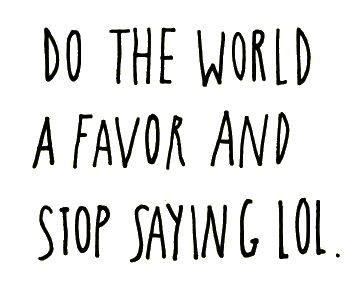do the world a favor