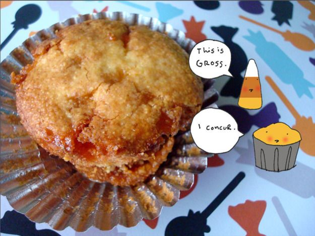 Candy Corn Muffins | Breads Sweet~Doughnuts~Sweet Muffins~Sweet Rolls ...