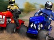 Fancy racing something a little different? Well we have just the thing. Come race Lawnmowers in our wacky 3D racer.