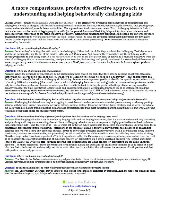 collaborative problem solving training toronto