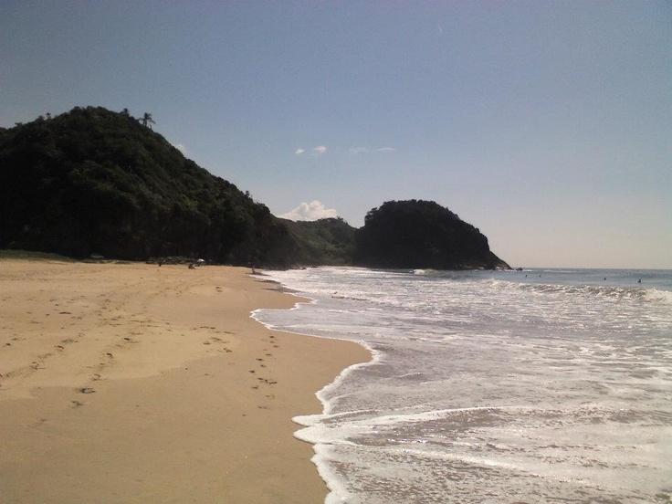 afternoon stroll on Praia Brava beach in Itajai, Brazil © Martyn Baker
