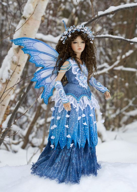 Antique Lilac - Winter Fairy