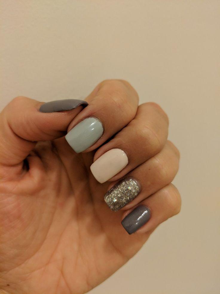 Gorgeous nails using Planet Nails colours.