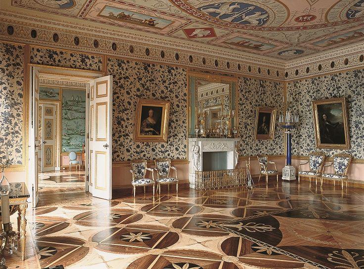 Romanov Palace Interiors | The Summer Palaces of the Romanovs: Treasures from Tsarskoye Selo ...