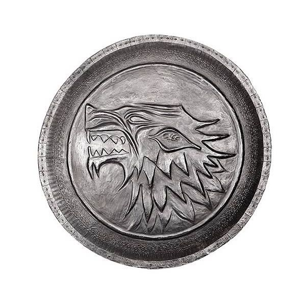 Game of Thrones Stark Direwolf Shield Pin ($15) ❤ liked on Polyvore featuring jewelry, brooches, horse brooch, pin jewelry, horse pin brooch, pin brooch and horse jewelry