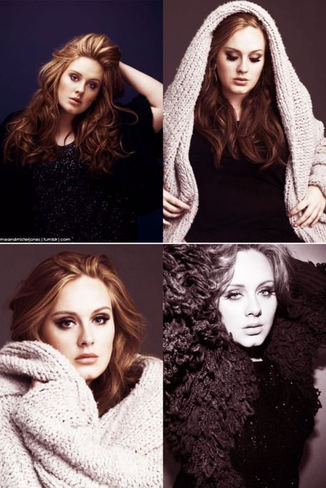 Adele is such an amazing singer and she's beautiful to boot!
