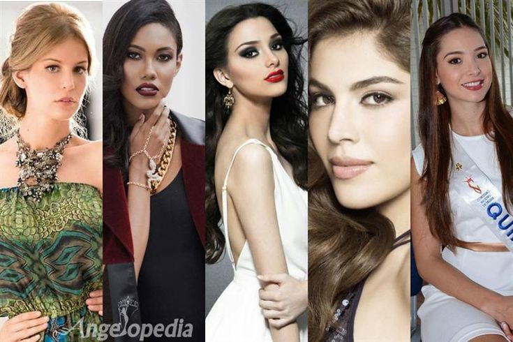 Miss COlombia 2015 Top 10 Hot Picks