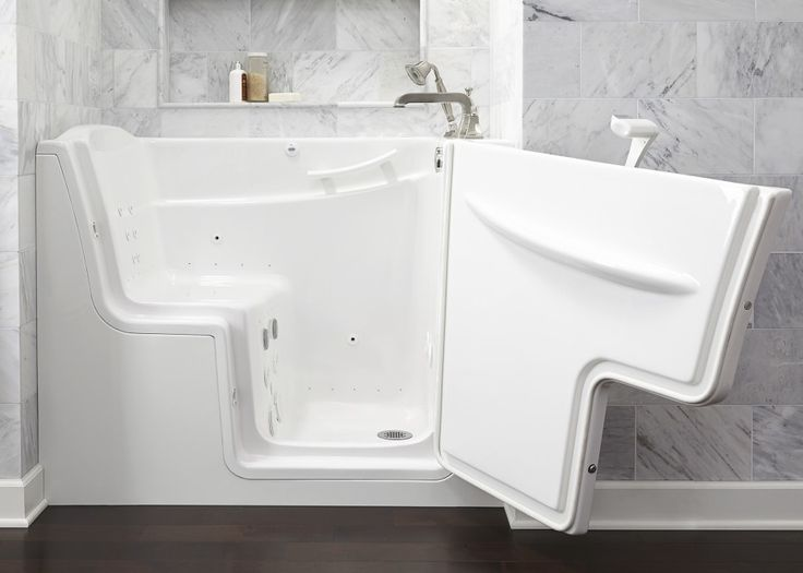 Walk In Bath Tub And Outward Opening Door Also Bathtubs, Mesmerizing Walk In Bathtub Design Ideas To Remodeling Your Bathroom: Bathroom, Interior Ideas
