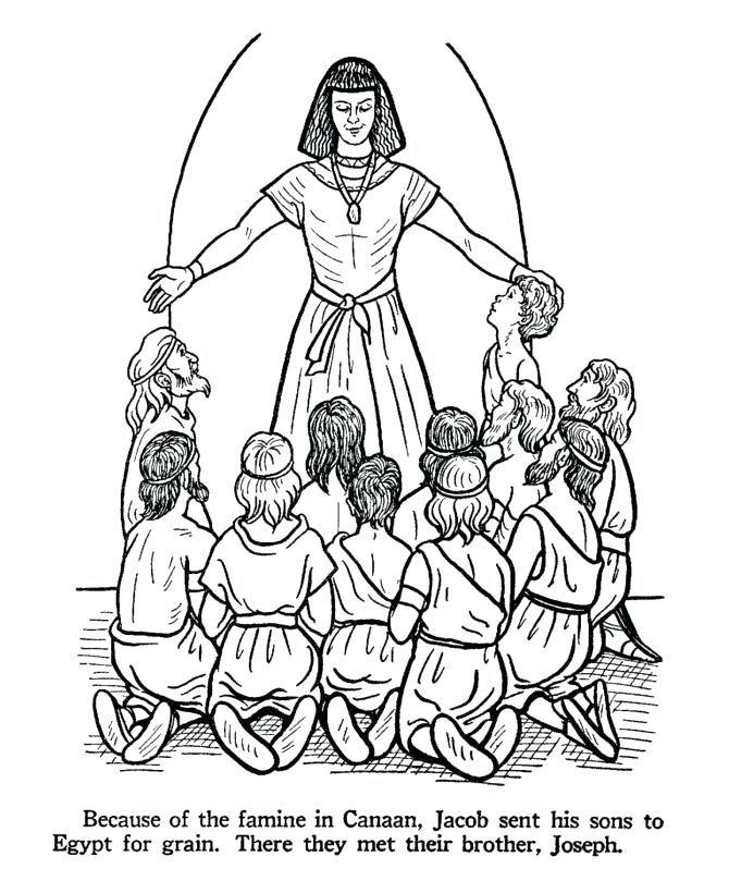 Joseph Coloring Pages Best Coloring Pages For Kids Bible Coloring Pages Bible Coloring Joseph In Egypt