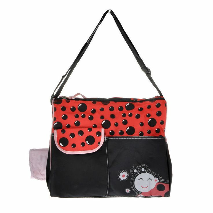 dribbleanddrool - Adorable Lady Beetle Nappy Bag with Change Mat, $30.00 (http://www.dribbleanddrool.com.au/adorable-lady-beetle-nappy-bag-with-change-mat/)