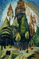 Carr, Emily - Paysage de la Colombie-Britannique - Musée des Beaux-Arts du Canada, Ottawa