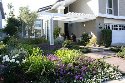 Low Water Front Yard Design Xeriscape Landscape