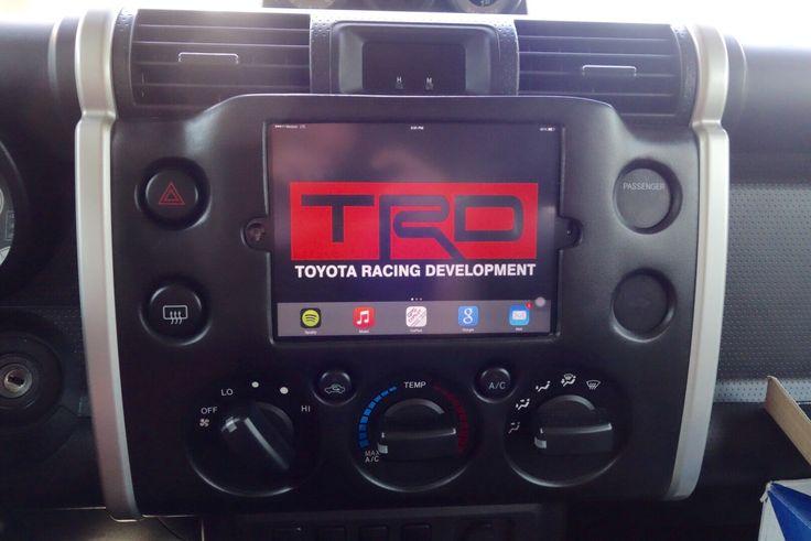 Toyota FJ iPad mini Dash install