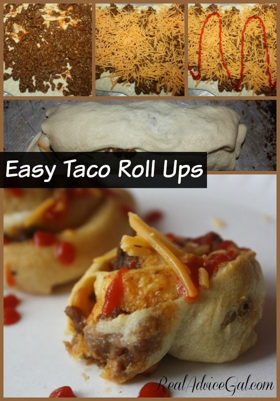 Super delicious and easy to prepare Taco Roll Ups Recipe