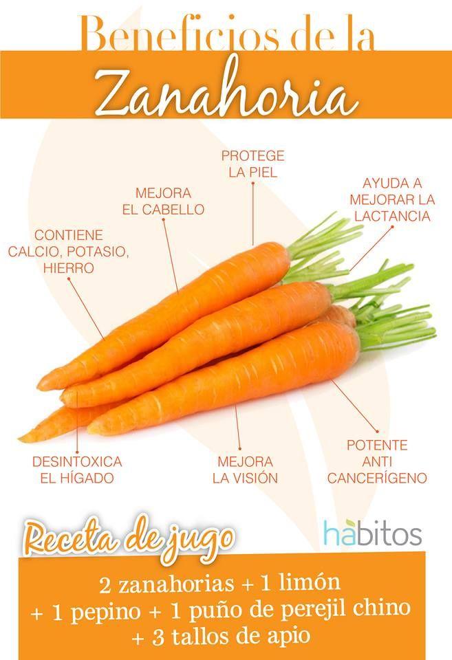 Beneficios de la zanahoria: #hábitosmx #health #salud