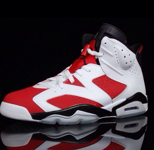 reputable site 395cc b8600 air jordan 6 carmine footlocker