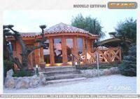 Casa de madera prefabricada ESTIFANI 2 - Casas de Madera y bungalows en Tarragona | Diseños a medida